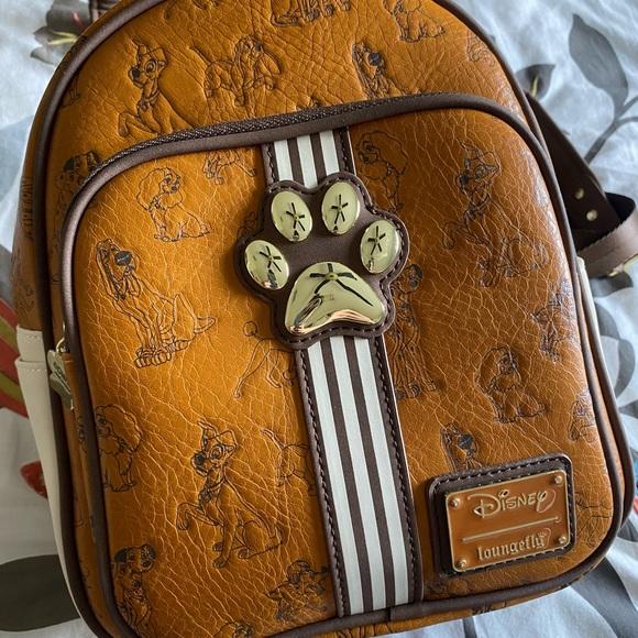 Loungefly Bags Disney Lady The Tramp Mini Backpack Poshmark